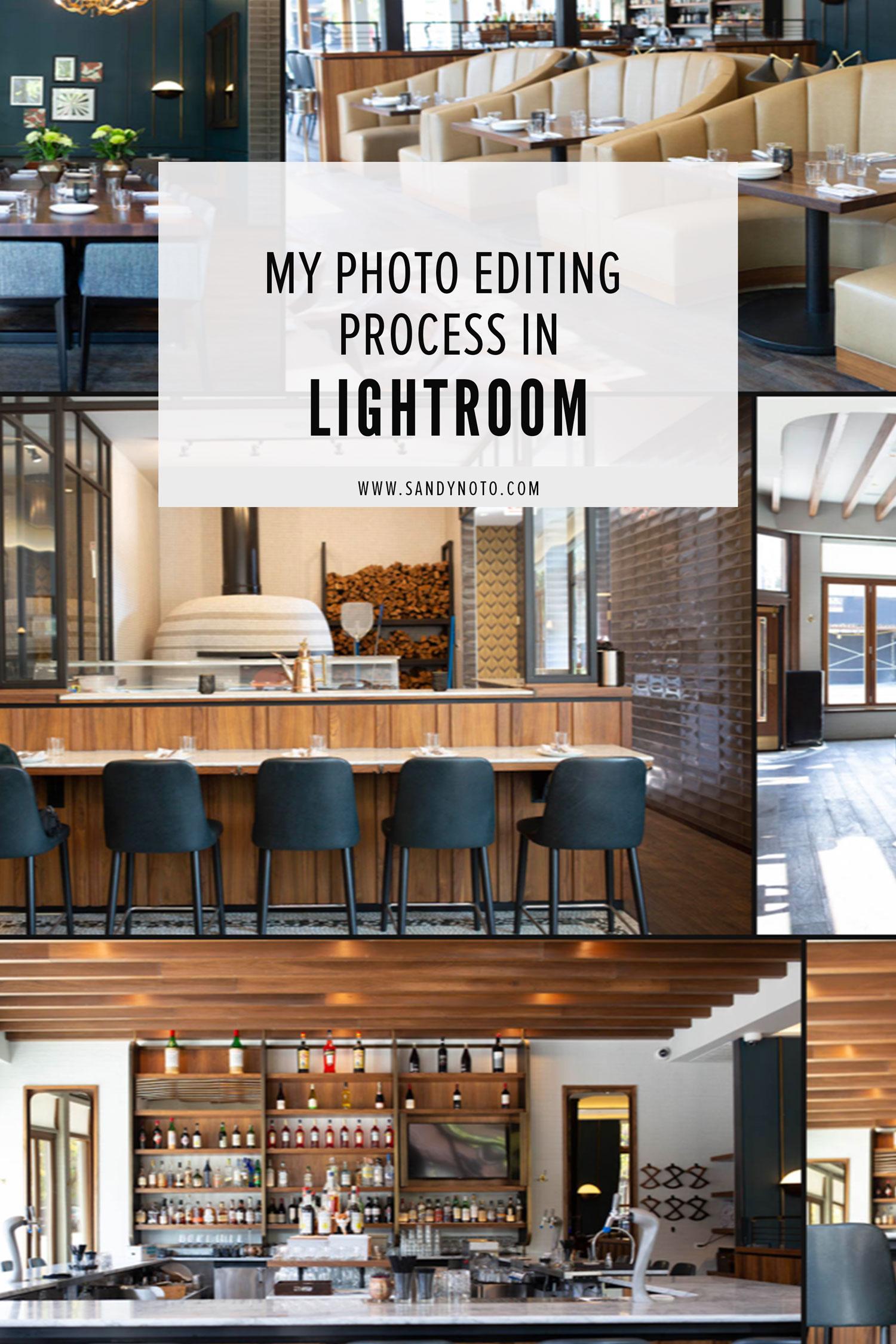 My Photo Editing Process