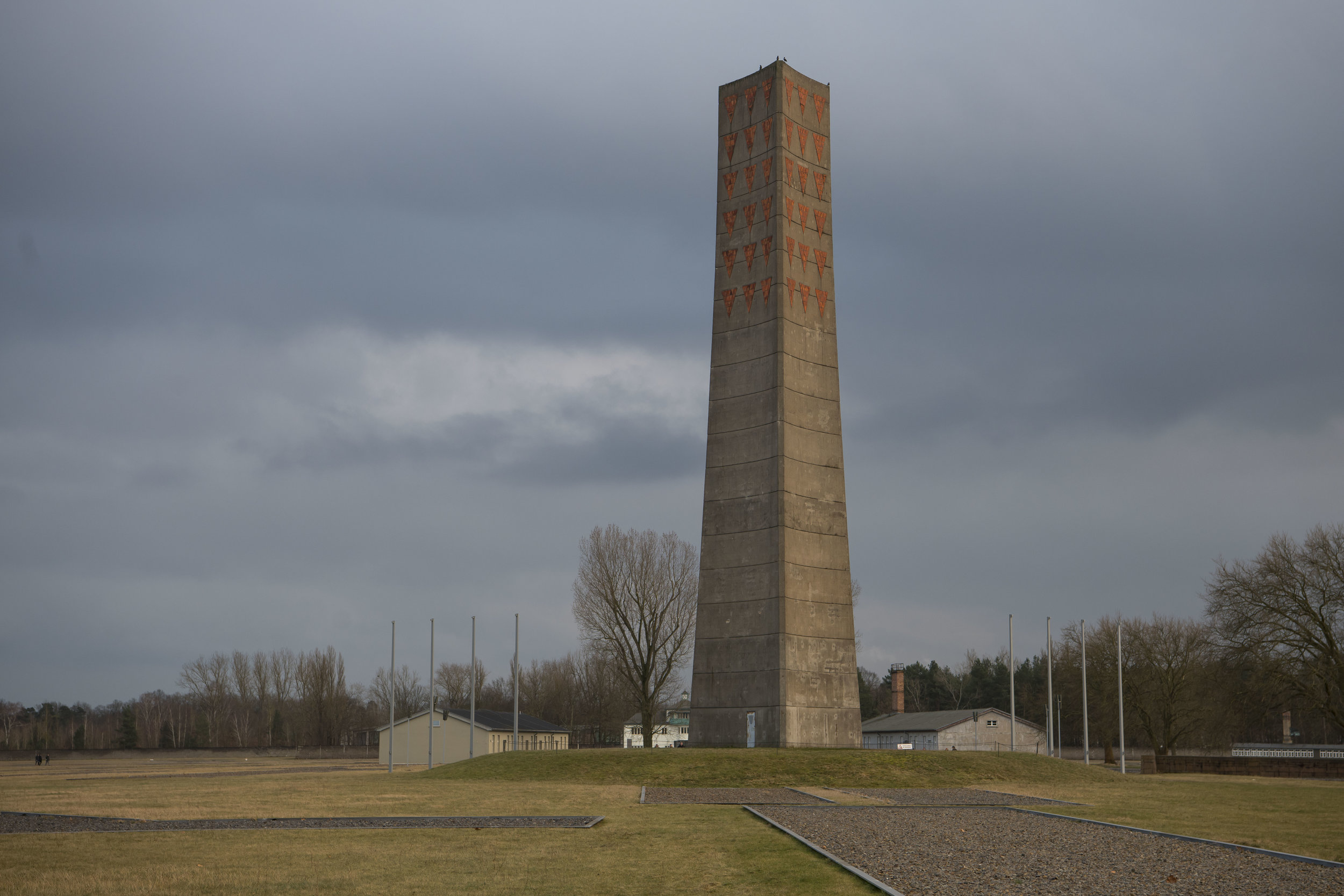 Sachsenhausen was a Nazi concentration camp in Oranienburg, Berlin, Germany, used primarily for political prisoners from 1936 to the end of the Third Reich in May 1945.