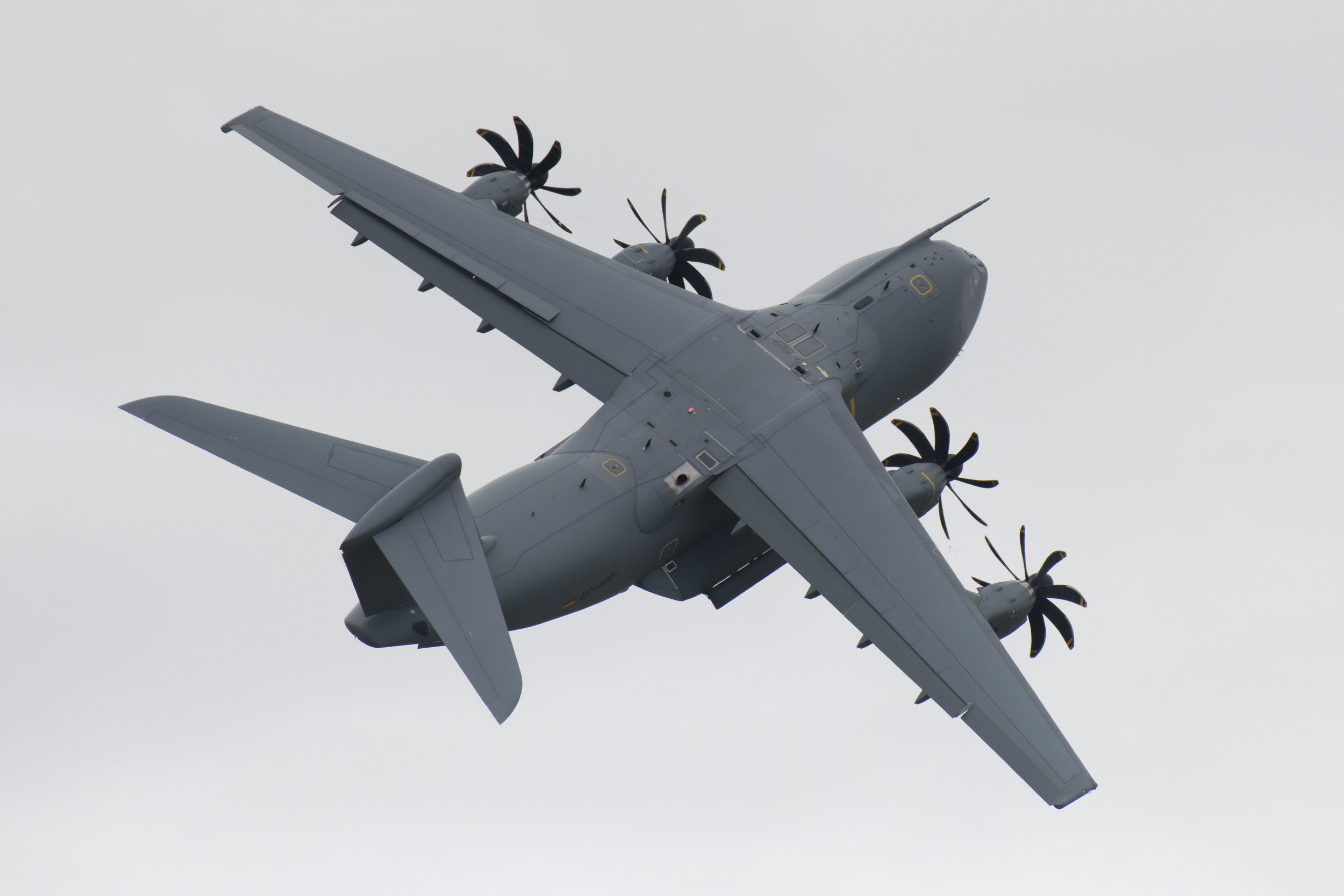 FAIRFORD, ENGLAND - JULY 21: The Airbus A400M Atlas performs during the International Air Tattoo at RAF Fairford on July 21, 2019 in Fairford, England. The Royal International Air Tattoo (RIAT) is the world's largest military air show, held in support of The Royal Air Force Charitable Trust. (Photo by Matthew Horwood/Getty Images)