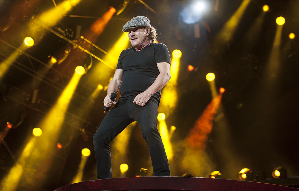 AC/DC in concert - London