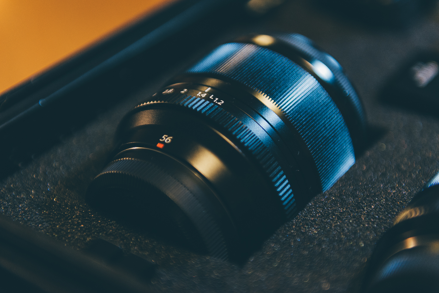 The fastest lens in my kit, the gorgeous 56mm 1.2...