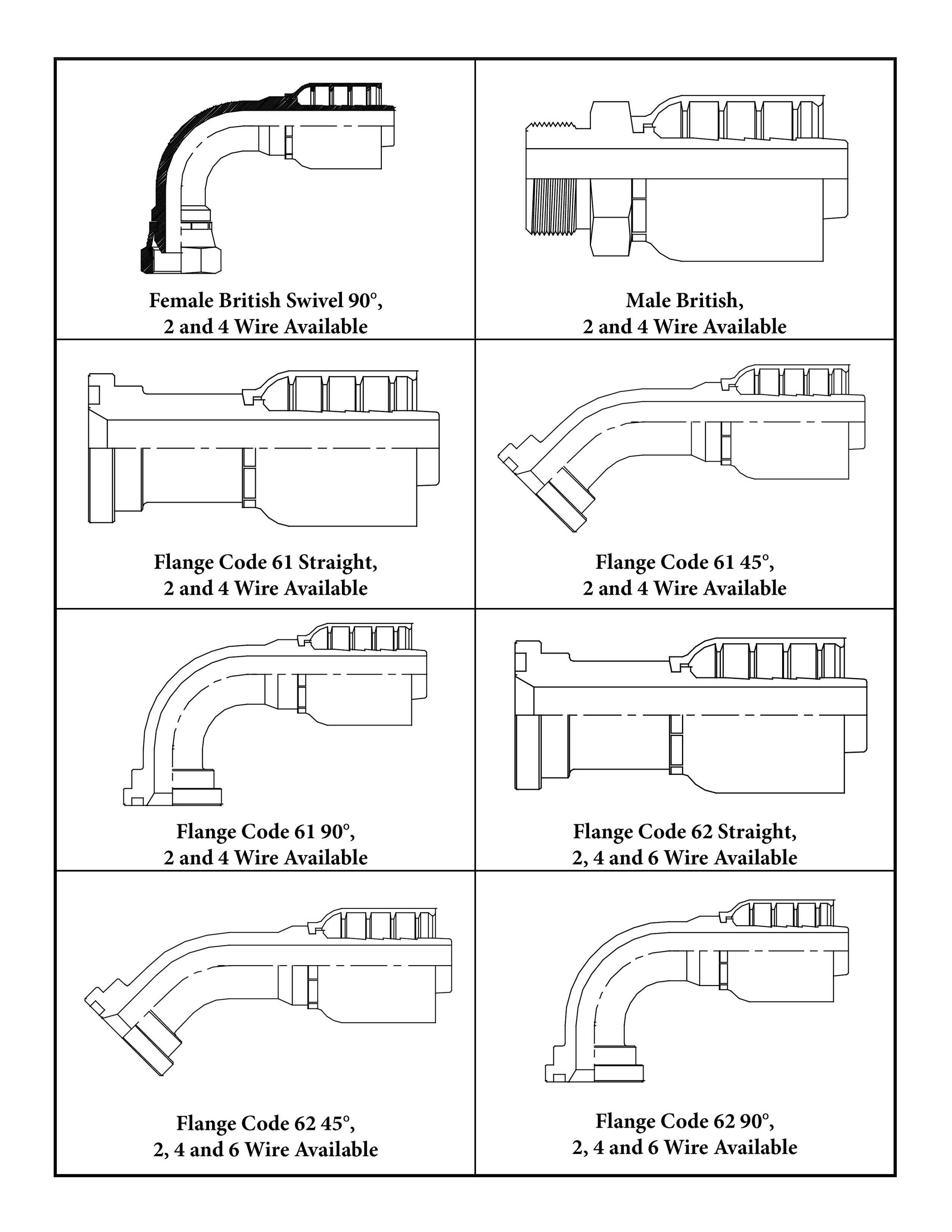 1-Piece Fittings