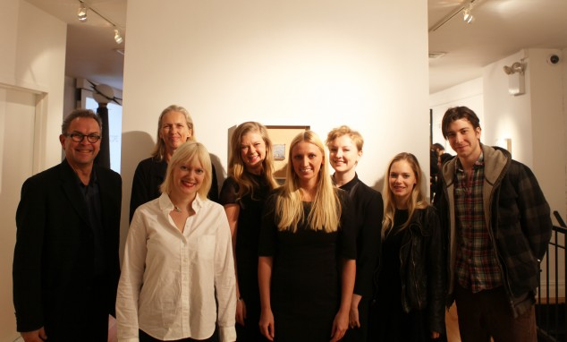 Rick Bell, FAIA, AIANY; Elin Bergithe Rognlie, Consulate General of Norway; Ingrid Moe, Consulate General of Norway; Kati Laakso, Consulate General of Finland in New York; Emmi Keskisarja, Architect; Miia-Liina Tommila, Architect; Caitlin Mehner, Performer; and David Gelles, Performer.  Credit: AIANY | Center for Architecture