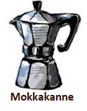 Mokkakannen Kaffee im Schönbergers