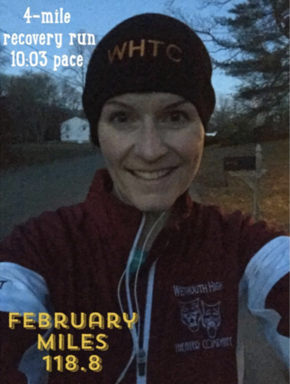 Most miles in any one month? Yep, that happened last month too!     Photo cred: Sara Elizabeth