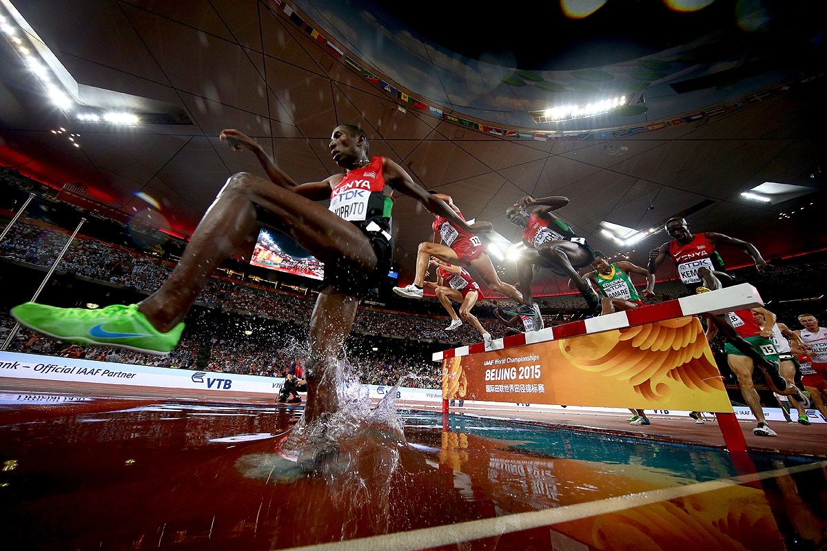 The 300m Steeplechase
