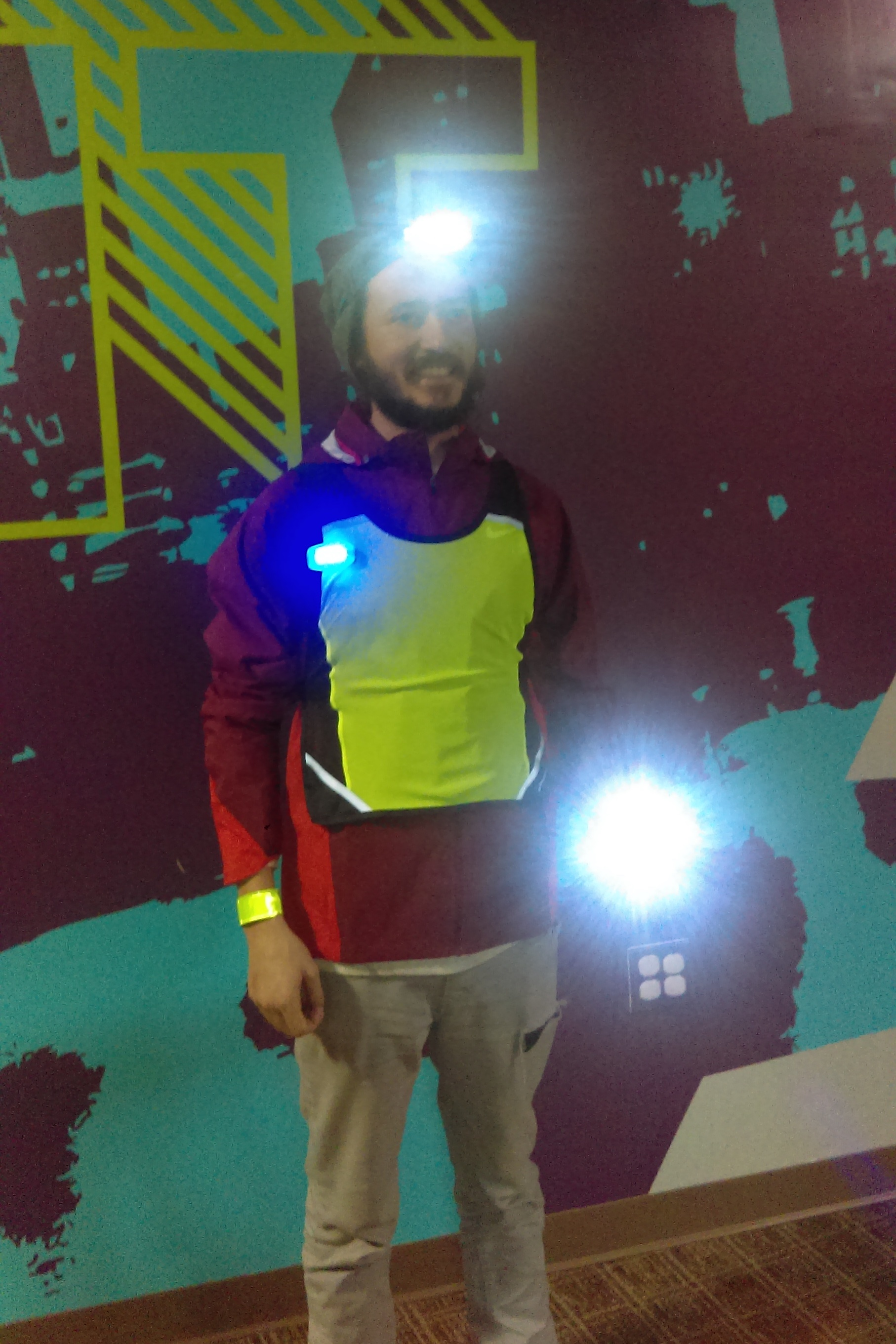 Here, Jason demonstrates the impact of both types of lights and just how visible you can be out on the roads!