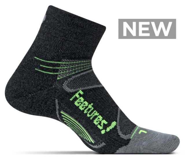warm. seamless. moisture wicking. - The perfect sock for winter.