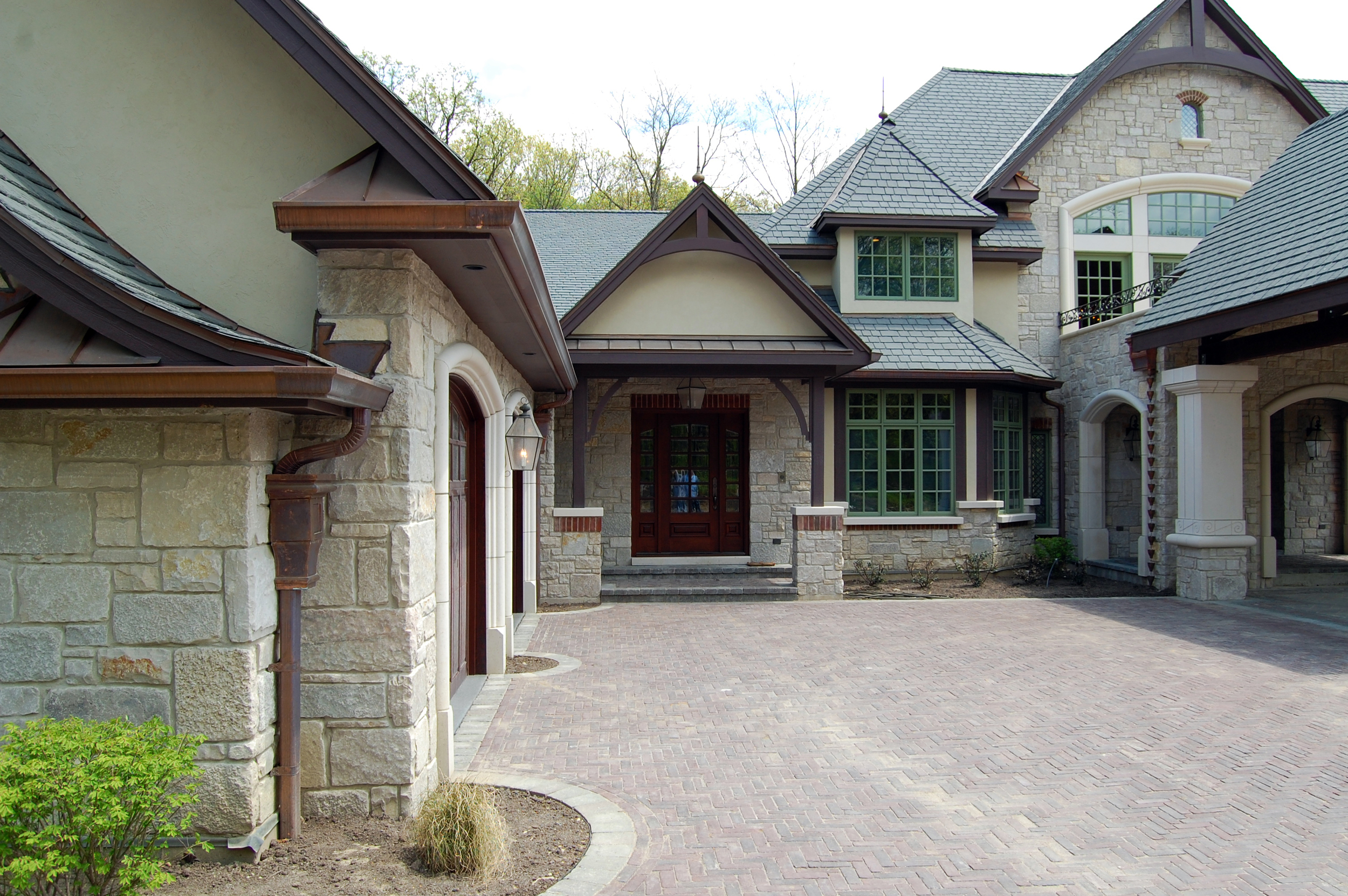 FRENCH COUNTRY SUBURBAN ESTATE