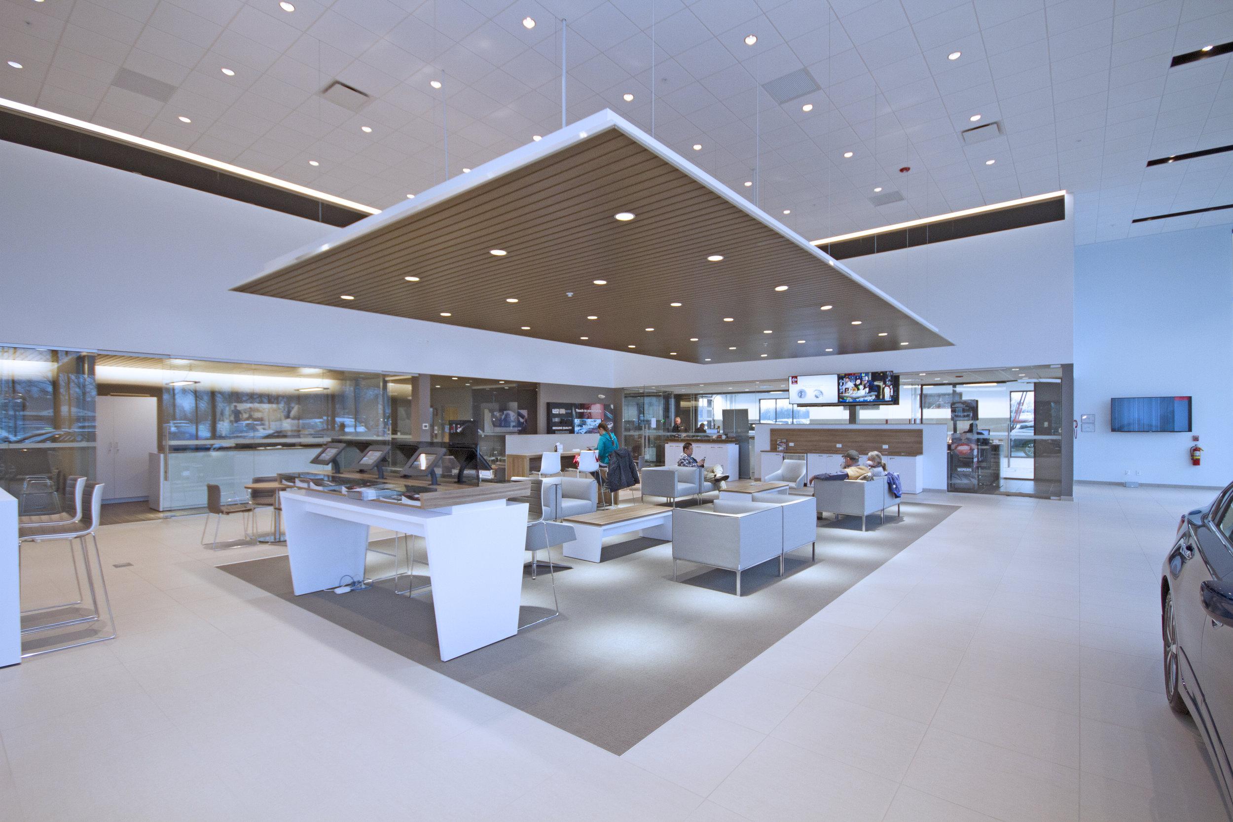 Spaces for   Automotive Sales