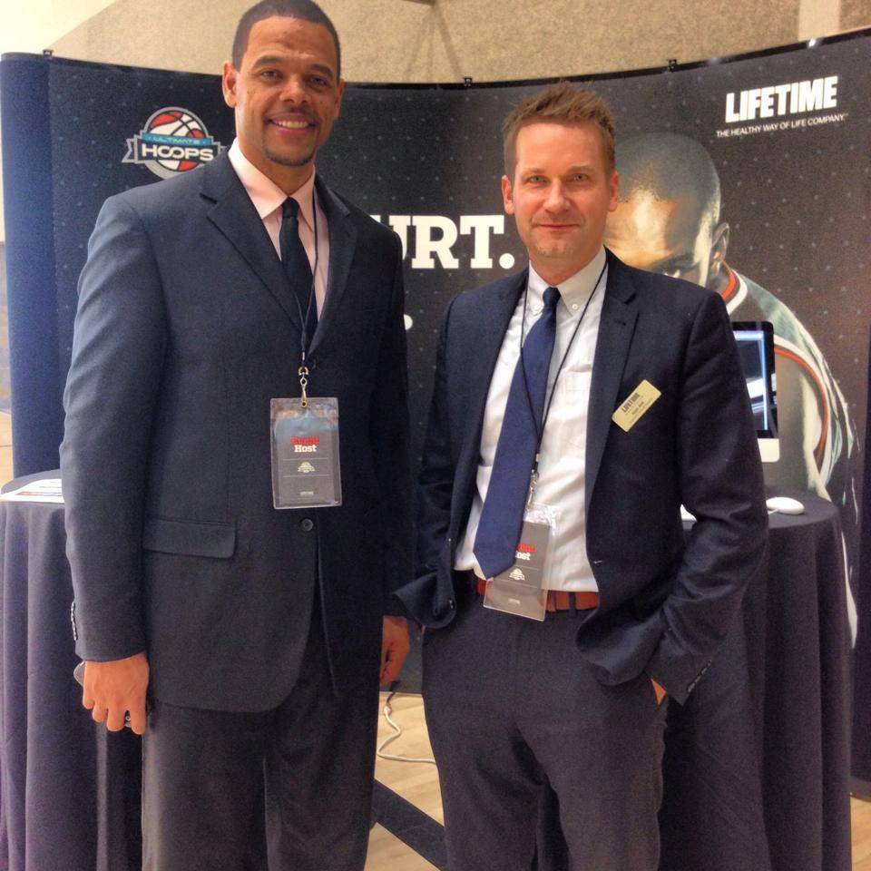 National Training Manager John Thomas & UH founder Alan Arlt