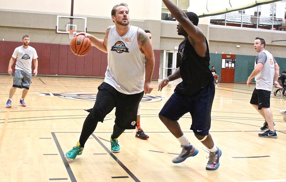 Steve Bertrand  of 'Da Brickashot Fergusons' averaged 17.5 points and 17.5 rebounds in his first season of Ultimate Hoops