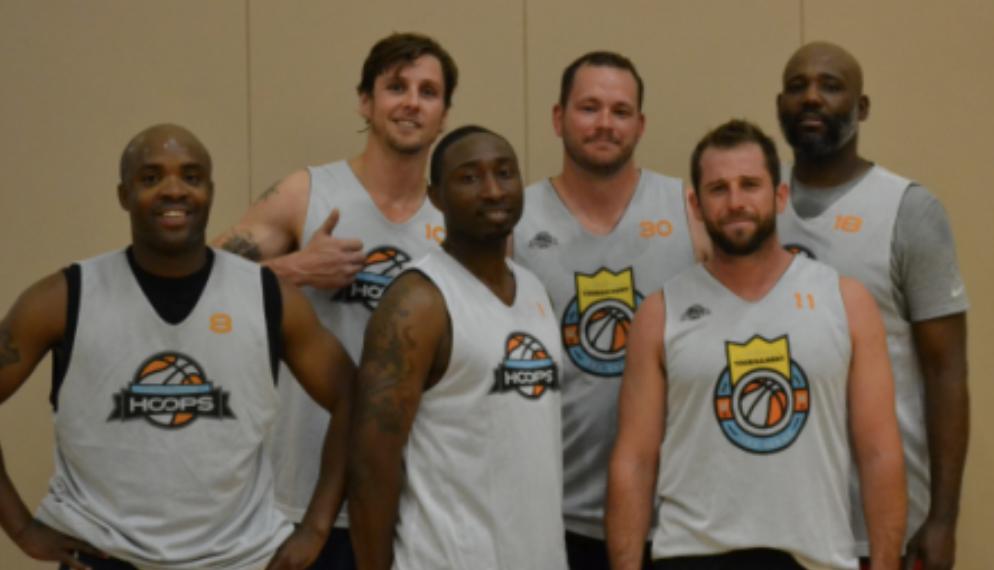 Birdie's Revenge - Jazz Williams (center) with his Colorado Springs squad.