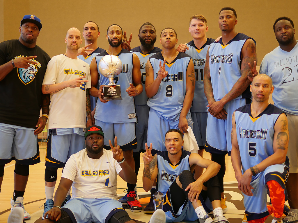 Ball So Hard after winning the 2016 National Tournament