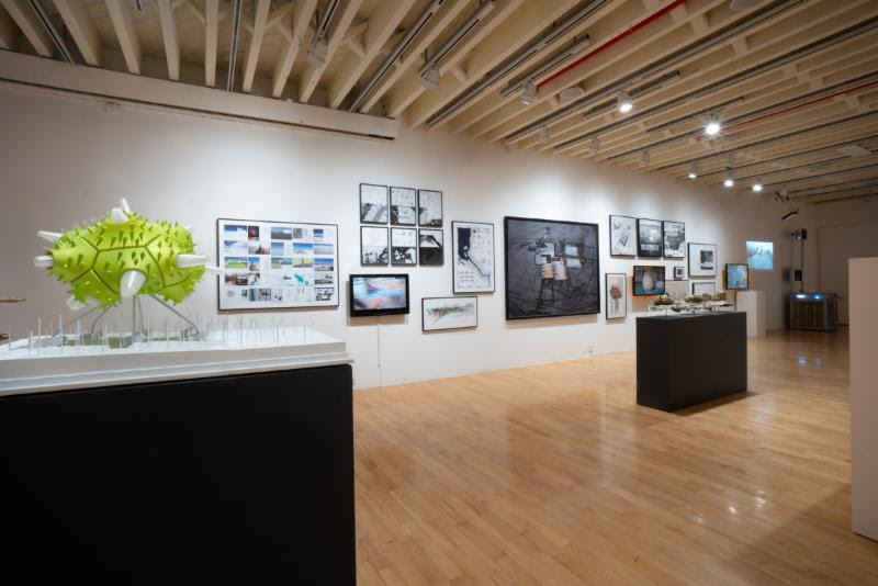 Installation view of  Ambiguous Territory  exhibition. Photo by Jason Mandella Photography.