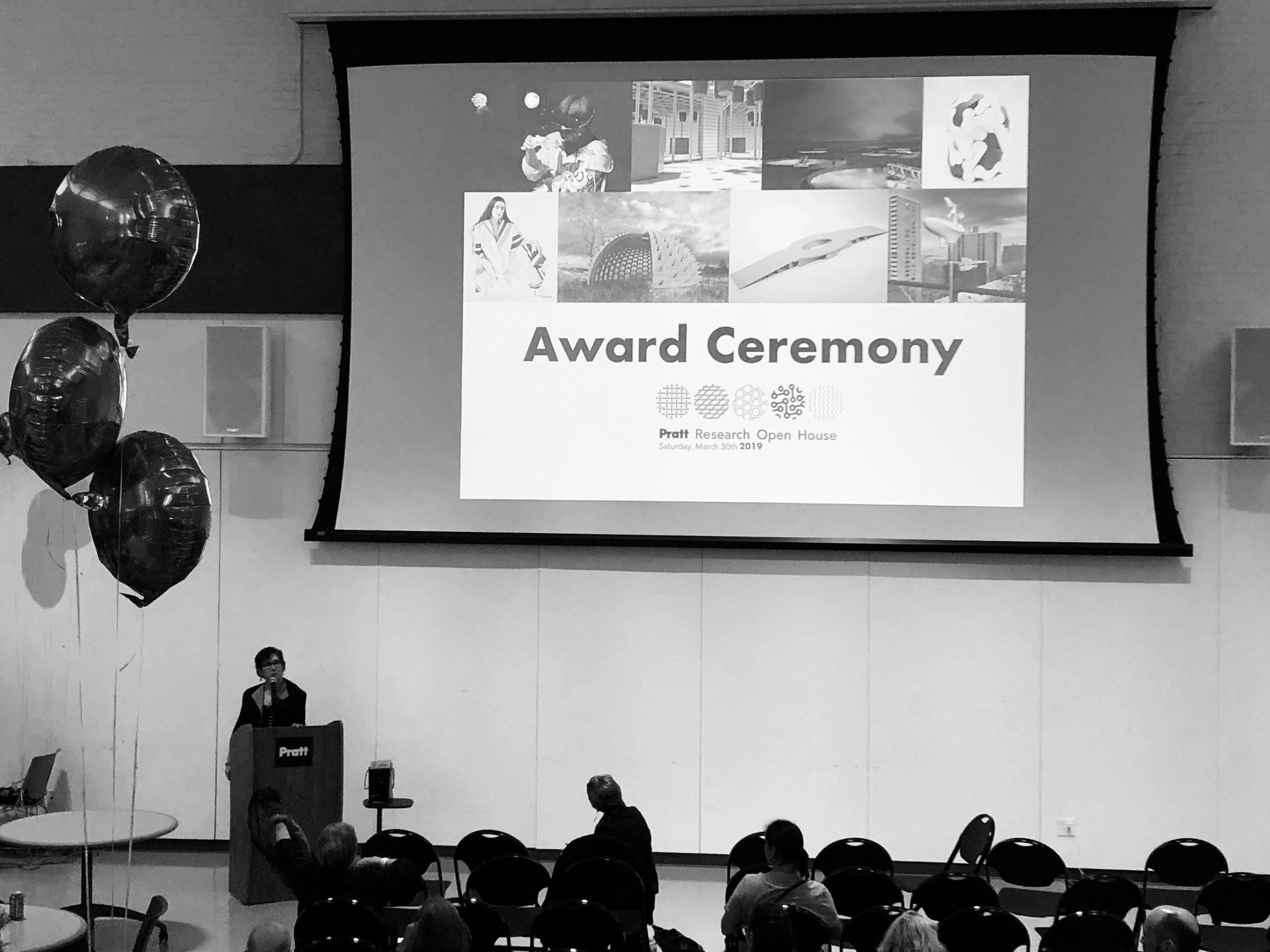 Pratt Institute Research Open House, Pollinators Pavilion awarded, 2019