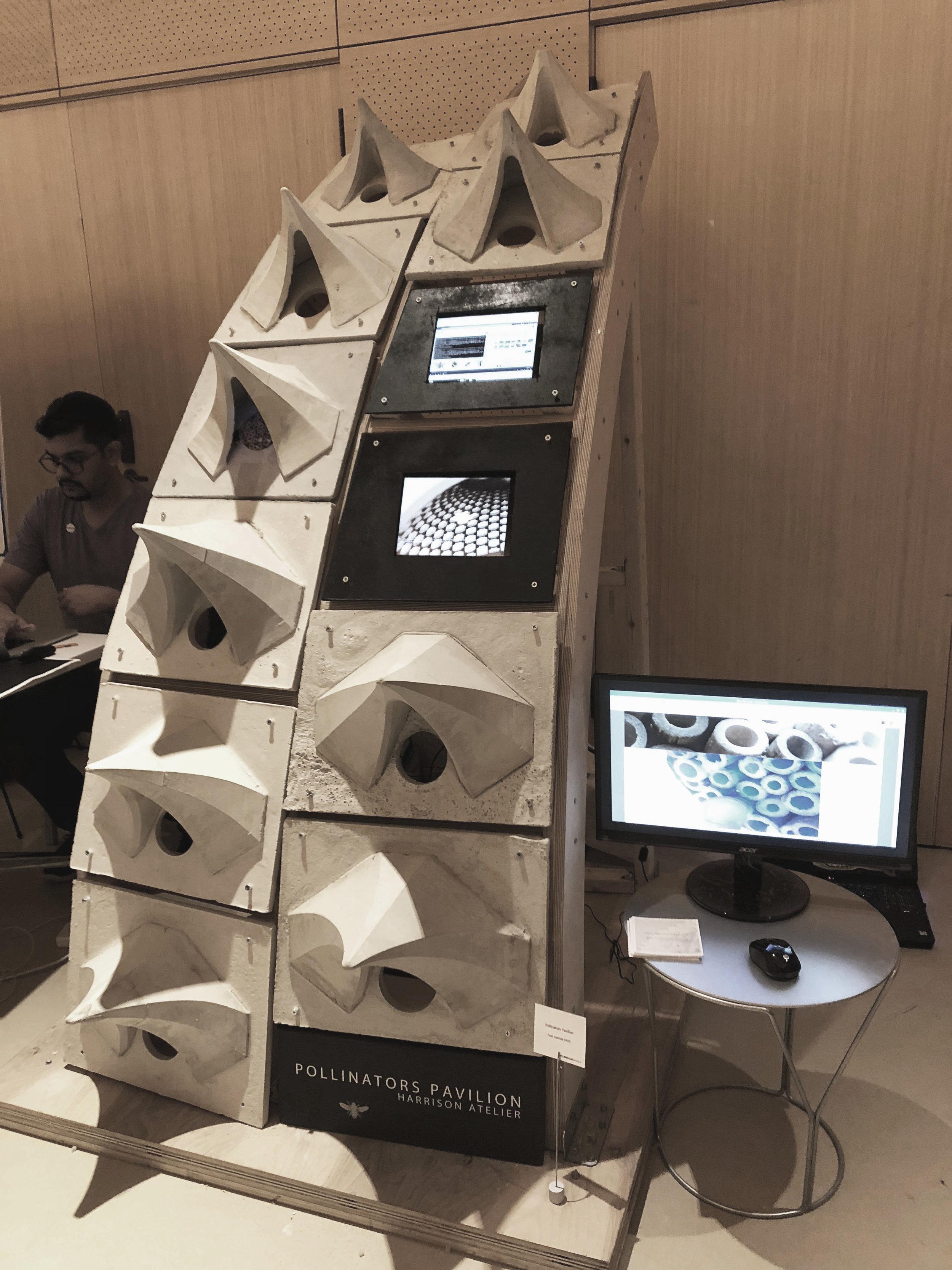 Pollinators Pavilion prototype at NYML Demo 2018