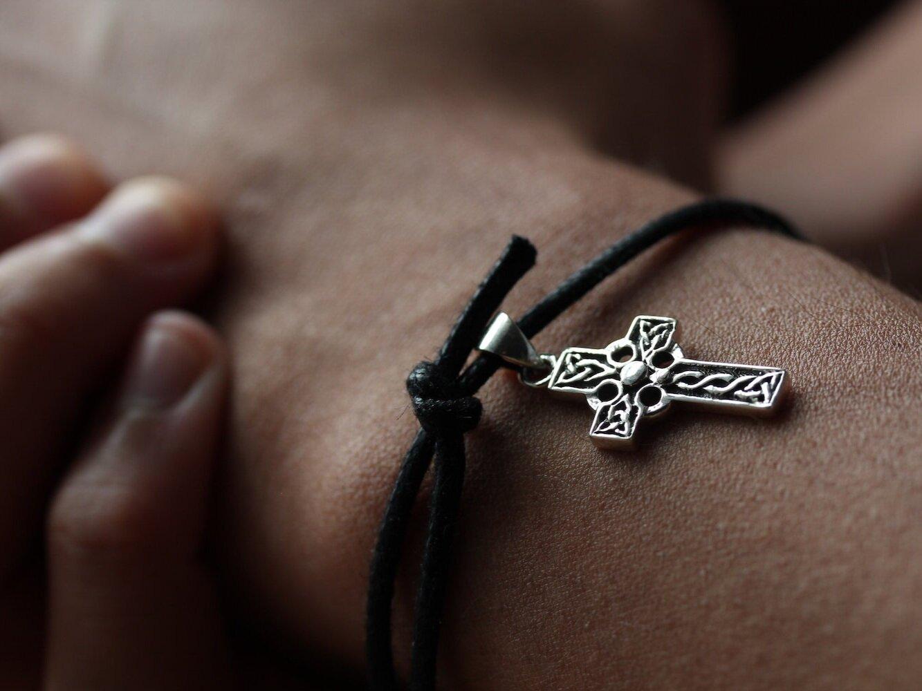 Celtic Knot Bracelet Scottish Jewellery Celtic Jewellery Sterling Silver Scotland Handmade Bangle Bracelet Edinburgh