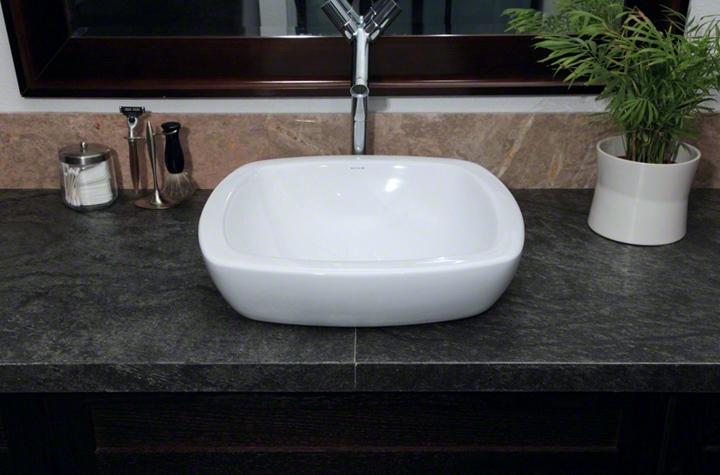 Ocean Black Bathroom Countertop