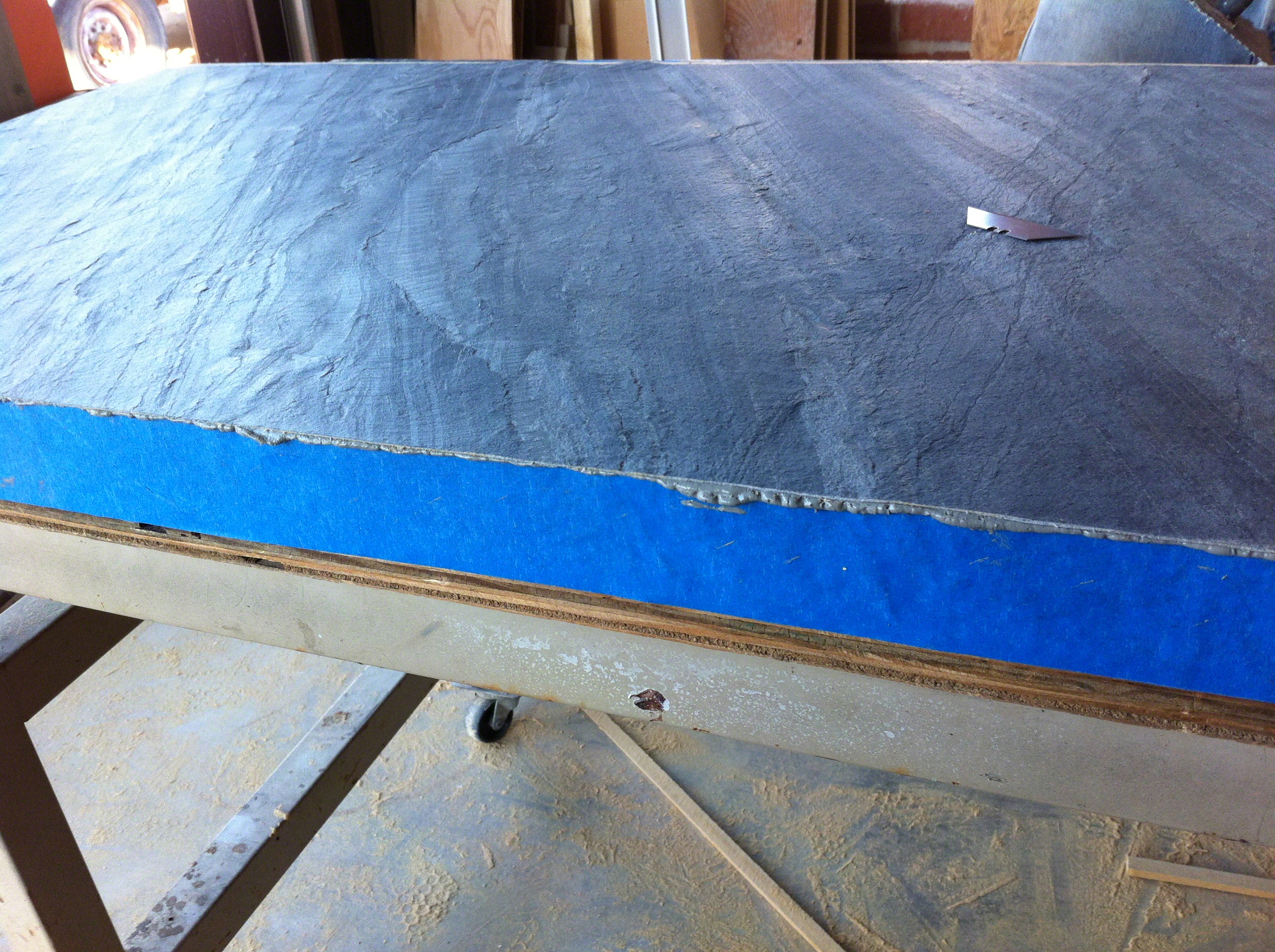 Side strip laminated