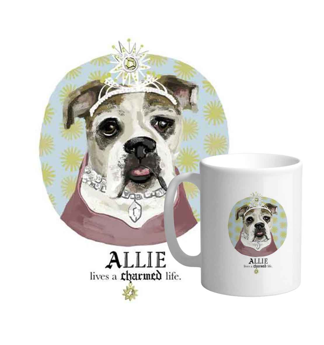 - D. Fur Baby VIP (for the Very Important Pet) $595 (+$100/additional face)The full works, including a high resolution jpeg of your illustration. Boost your pet's celebrity cred by using it to adorn apparel, mugs, pillows, and whatever else your heart desires!