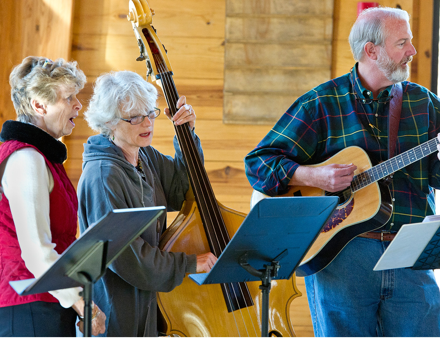 Choir and St. James Gang