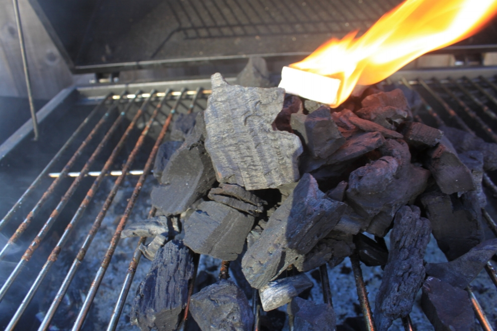 How not to light coal.
