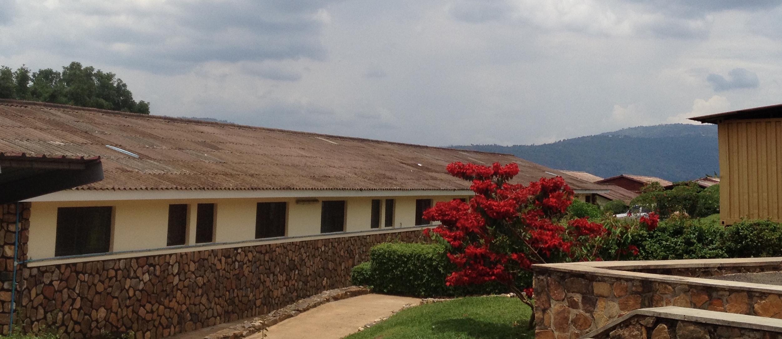 The CHUK clinic in Kigali