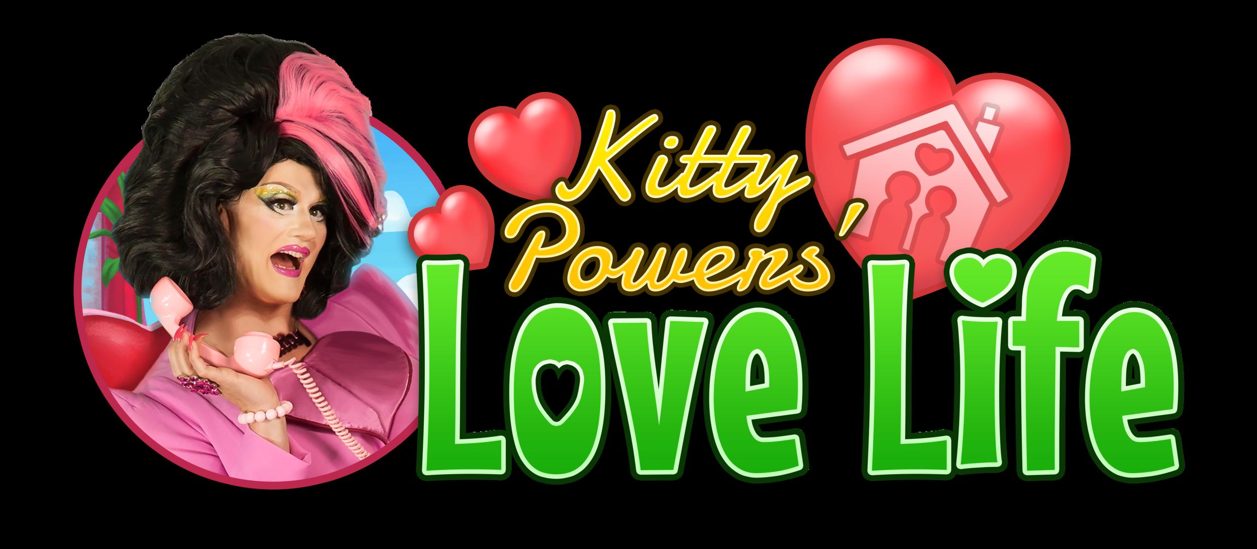 Love Life Logo with Kitty