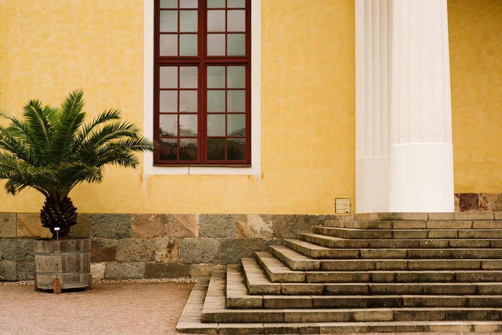 Upptäck saker att göra i Uppsala, besök Orangeriet Uppsalas botaniska trädgård.