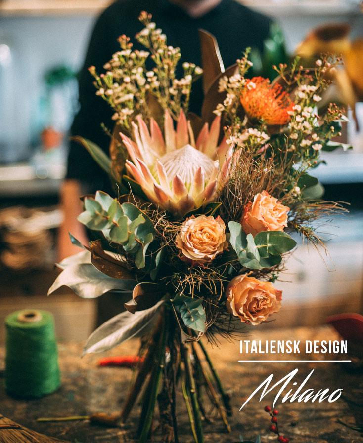 Milano guide om design, second hand shopping, keramik och blommor