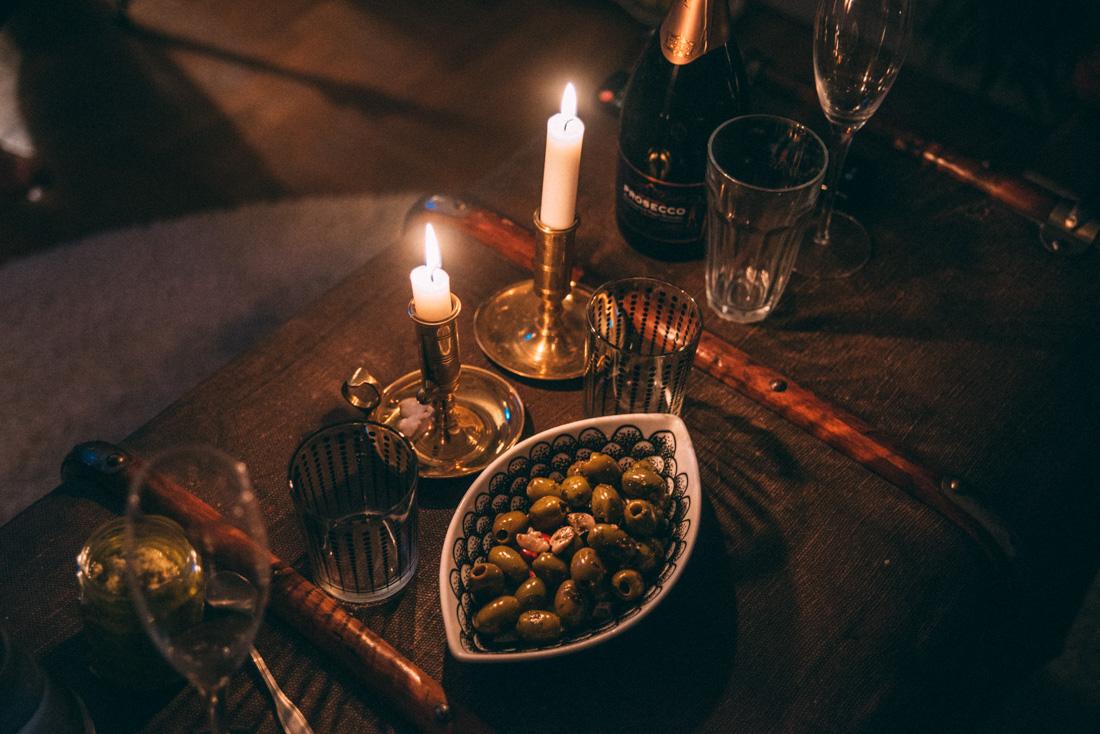 alla hjärtans dag middag bohemisk inredning