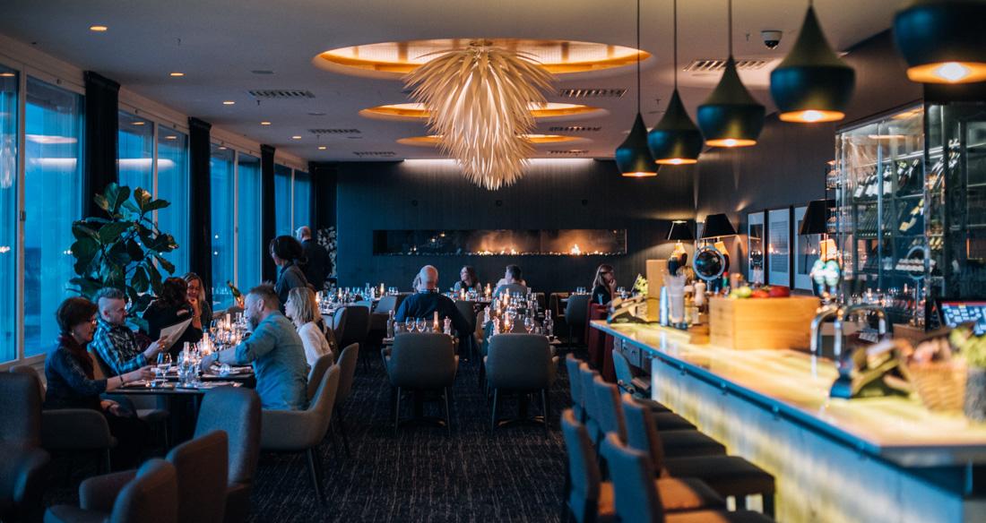 Kitchen & Table restaurang på Clarion hotel Arlanda