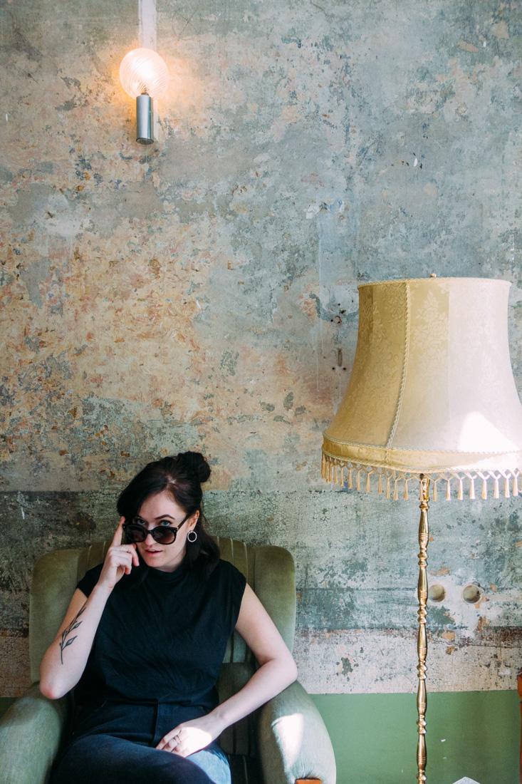 Amanda Nillson på 36 rooms i Berlin