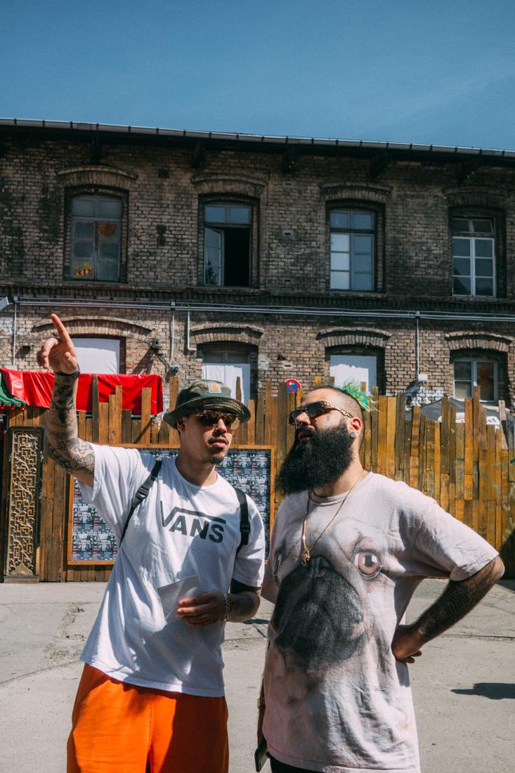 Bud Stankz och Habz på Raw Berlin