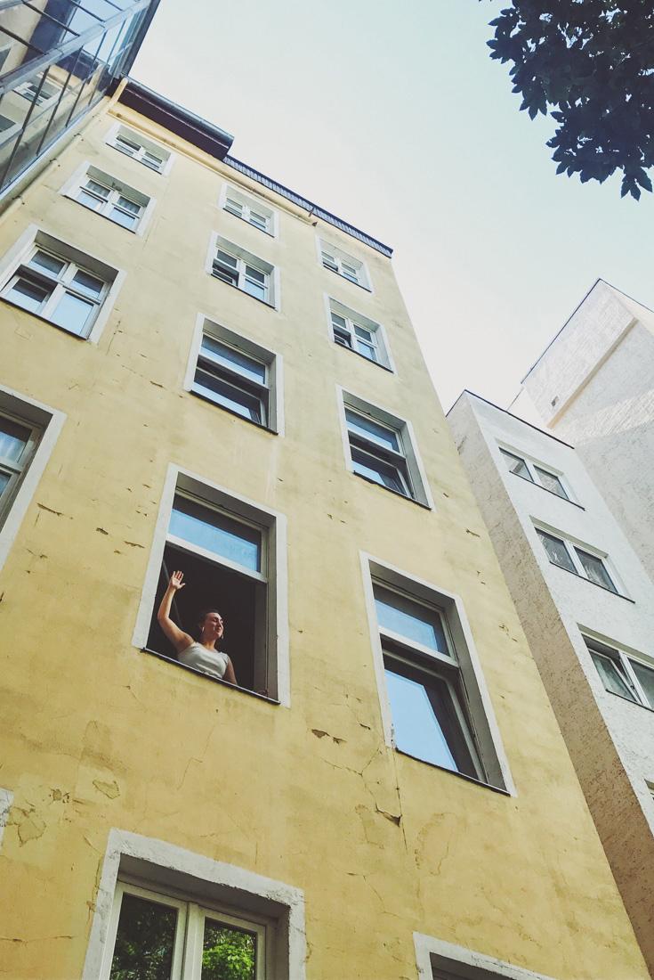 Stina på 36 Rooms Berlin