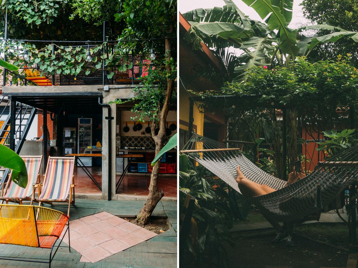 De Boca en Boca hostel i Granada Nicaragua