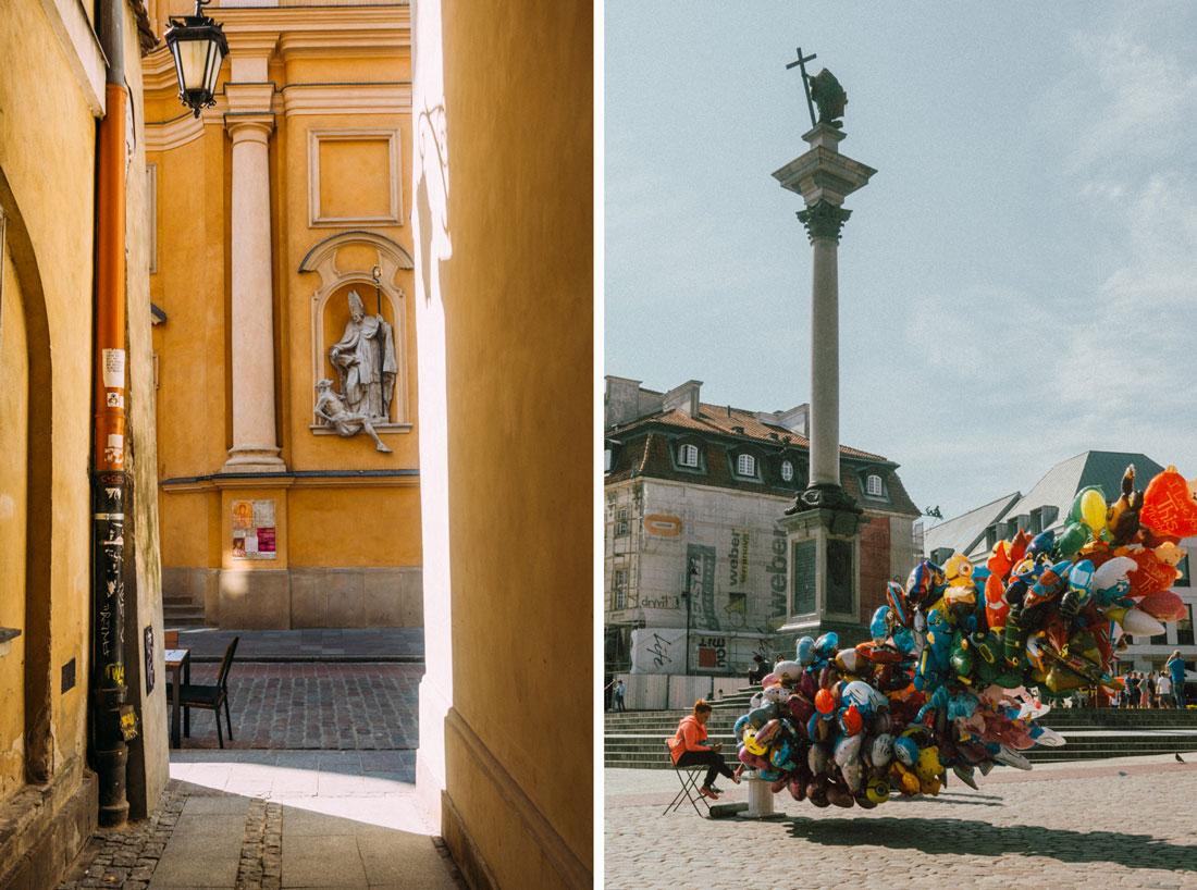 guidad tur genom gamla stan i Warszawa