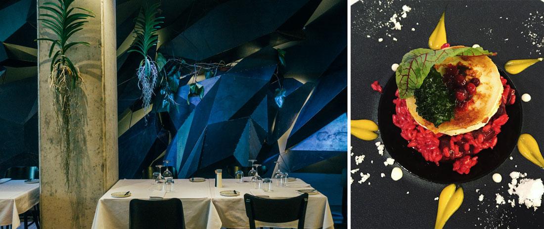 Guide med tips på bra restauranger och caféer i Warszawa, ät lunch och middag på Warszawski sen