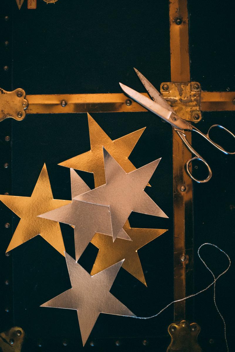 skapa egna stjärngirlang till fest