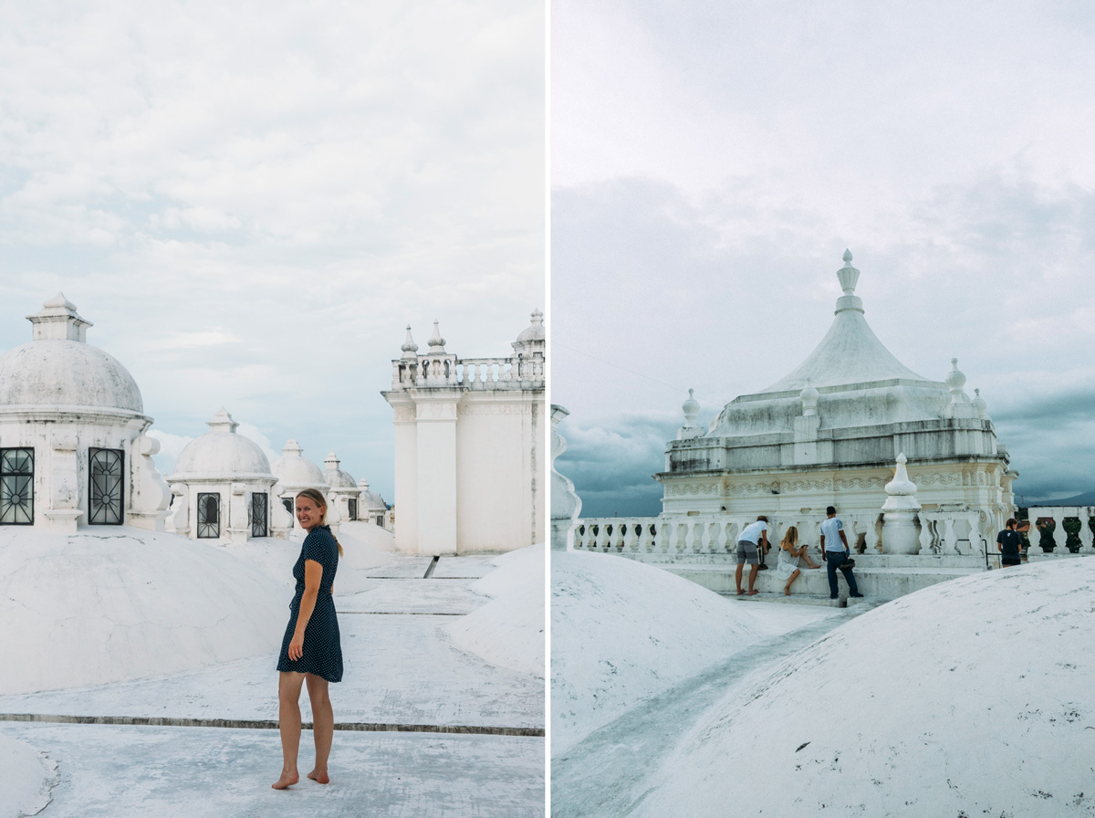 resa i Nicaragua katedral i Leon