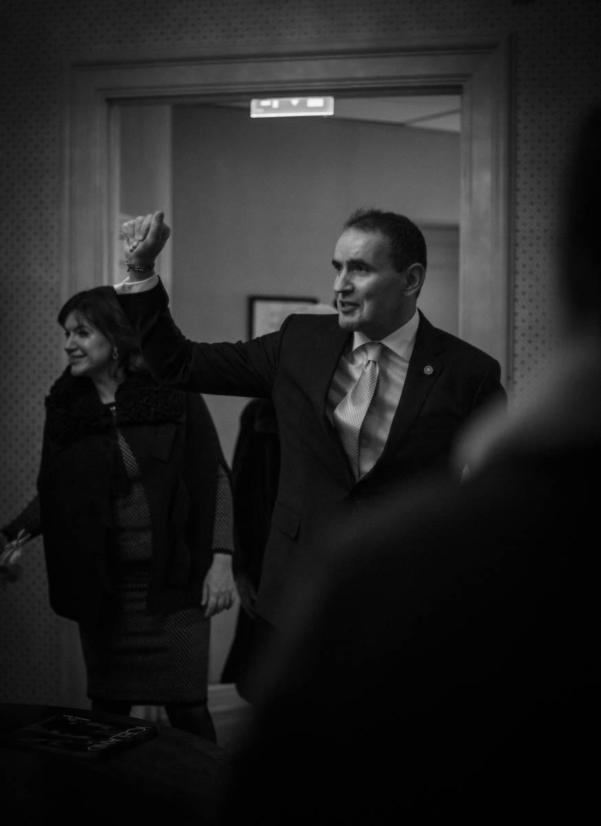 Islands president Guðni Jóhannesson  på  stadsbesök i Stockholm med hans first lady Eliza Reid