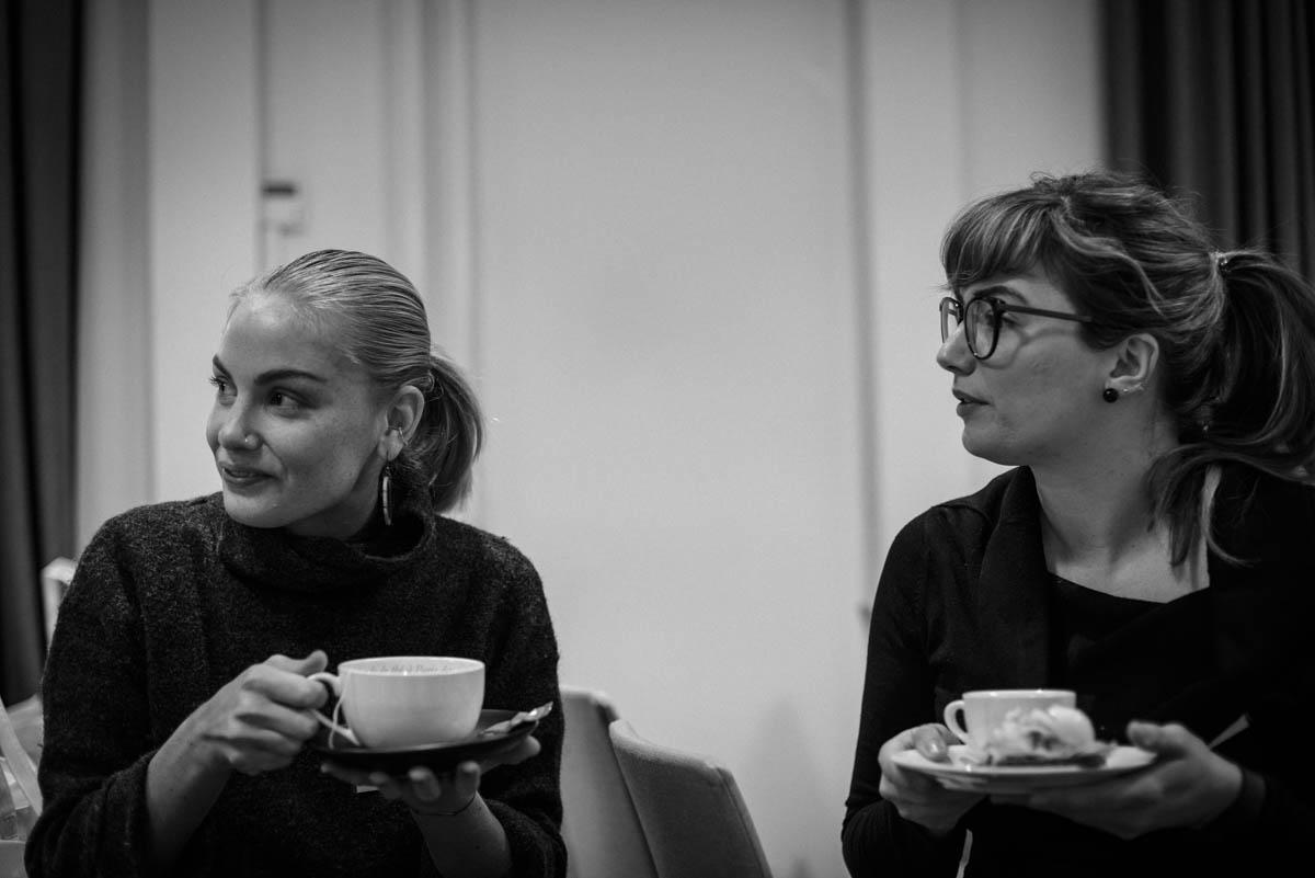 Resebloggarna Evelina från Earthwanderess och Katarina från Äntligen vilse