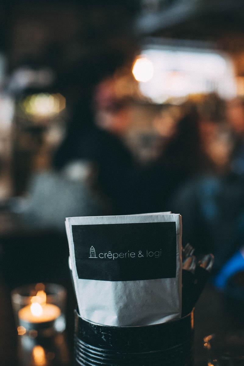 Restaurang Creperie & Logi i Åre som serverar crepes till lunch och middag