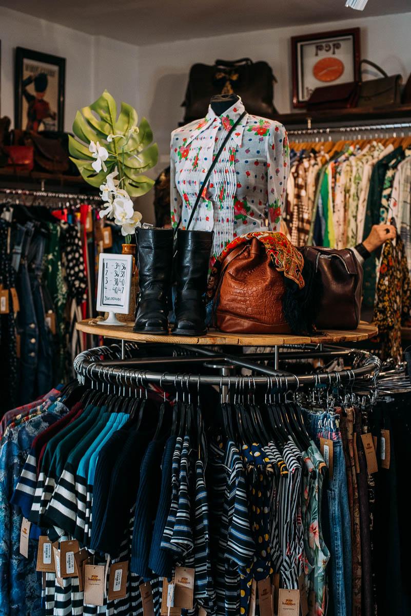 Pop boutique i Göteborg guide till second hand butiker