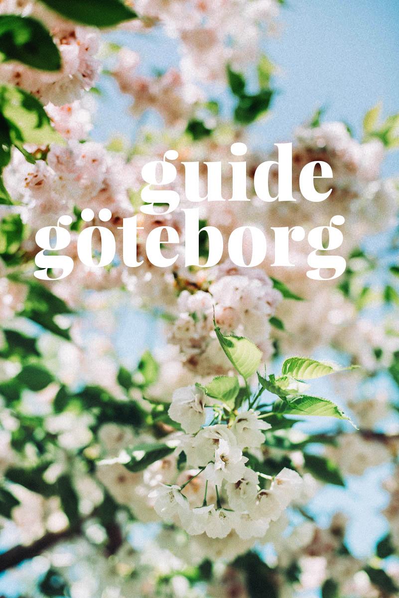 Göteborgs guide fylld med tips på second hand, inredningsbutiker, blomsterbutik och museum att besöka.