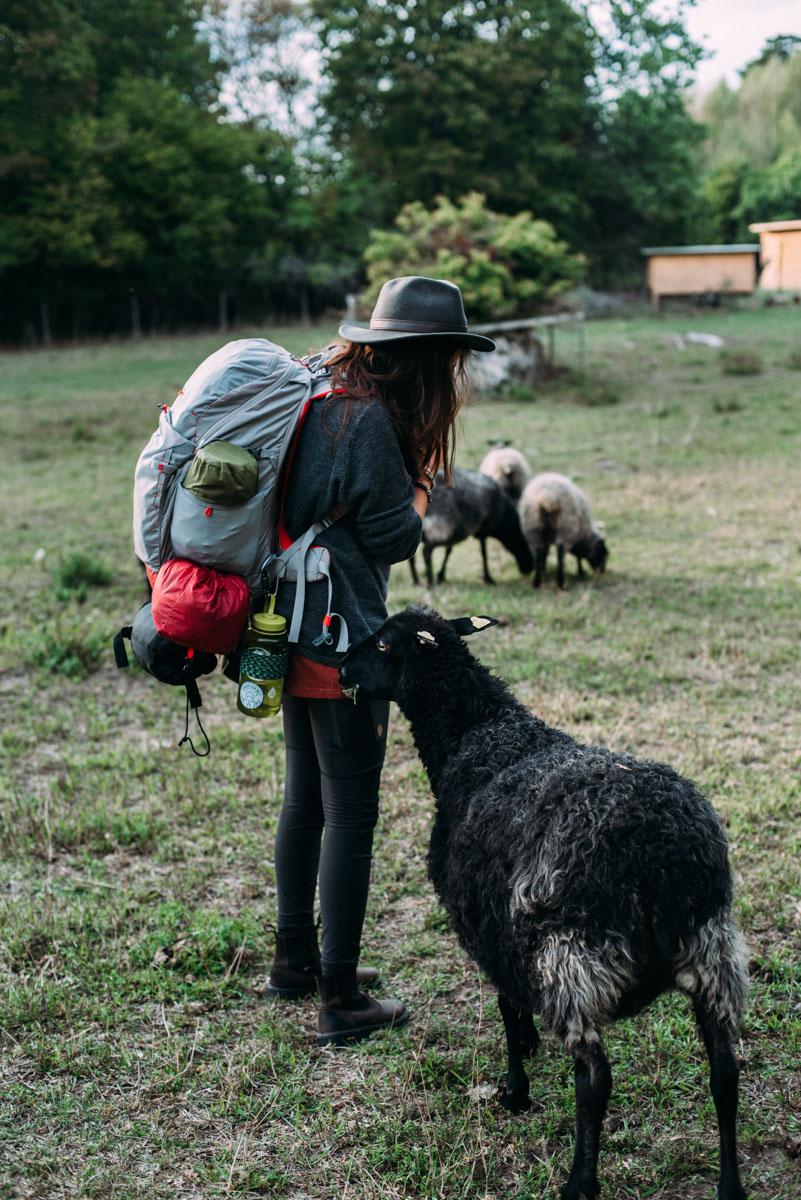 rania rönntoft från bloggen northbound journeys på summer workation på lindö med influencers of sweden