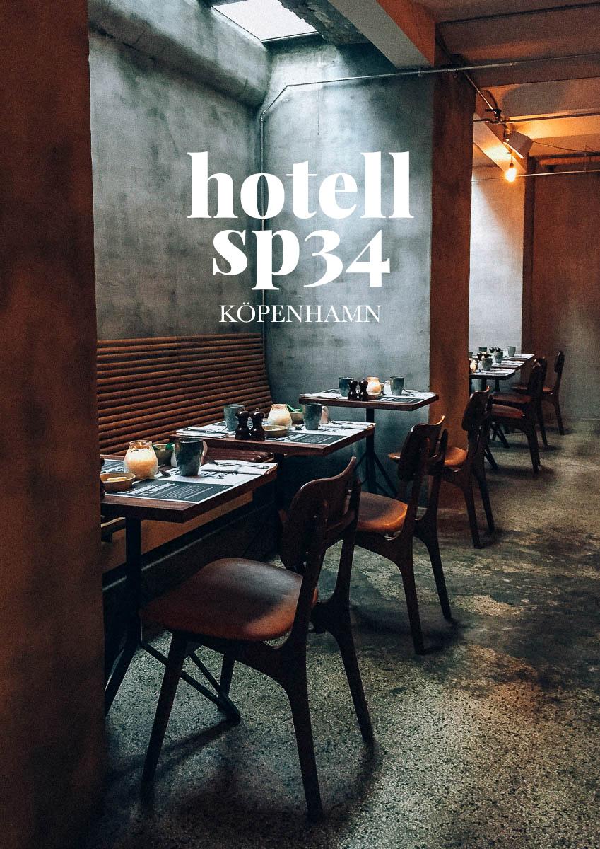Bra hotell i köpenhamn Hotel Sp34 med ekologisk frukost