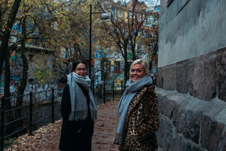 2 tips till dig som ska besöka Grünerlökka i Oslo. Promenera i området runt Blå och ät en Bao på Mathallen.