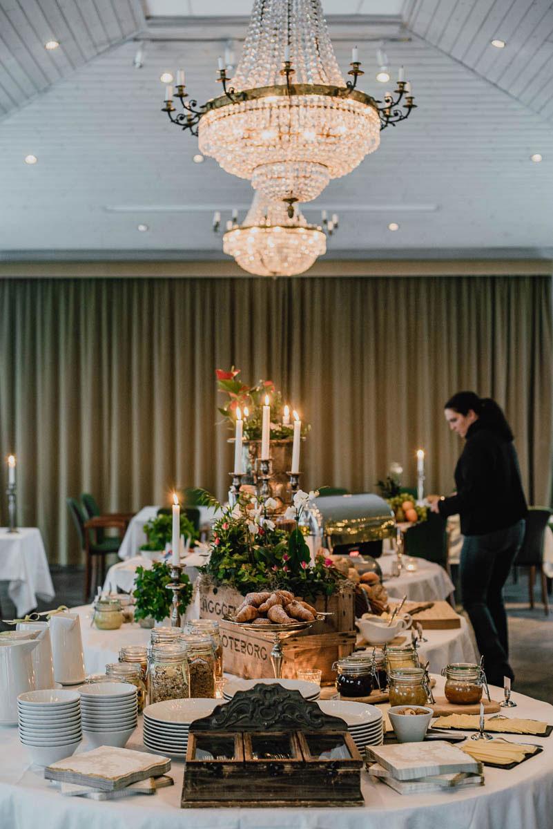 Slottsweekend med frukost i orangeriet på Thorskogs slott